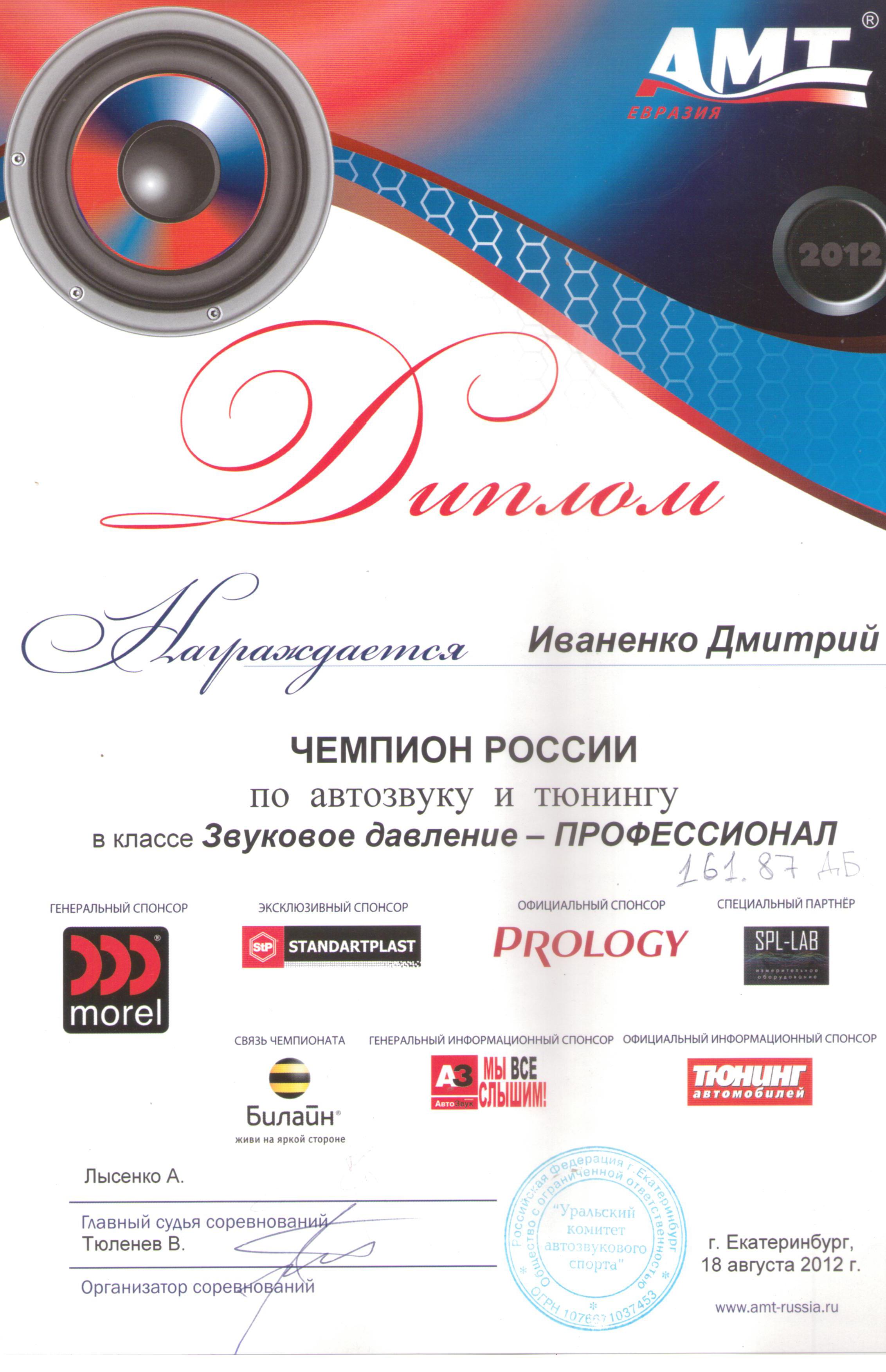 Чемпион России АМТ Екатеринбург 2012 001
