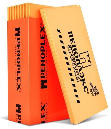 Экструдированный пенополистирол Пеноплэкс Экстрим 1185х585х100 мм купить в Москве