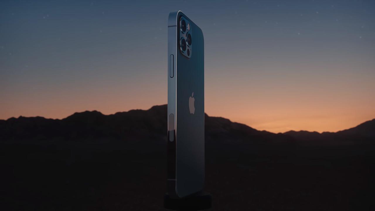 Дизайн iPhone 12 Pro - Стальной корпус