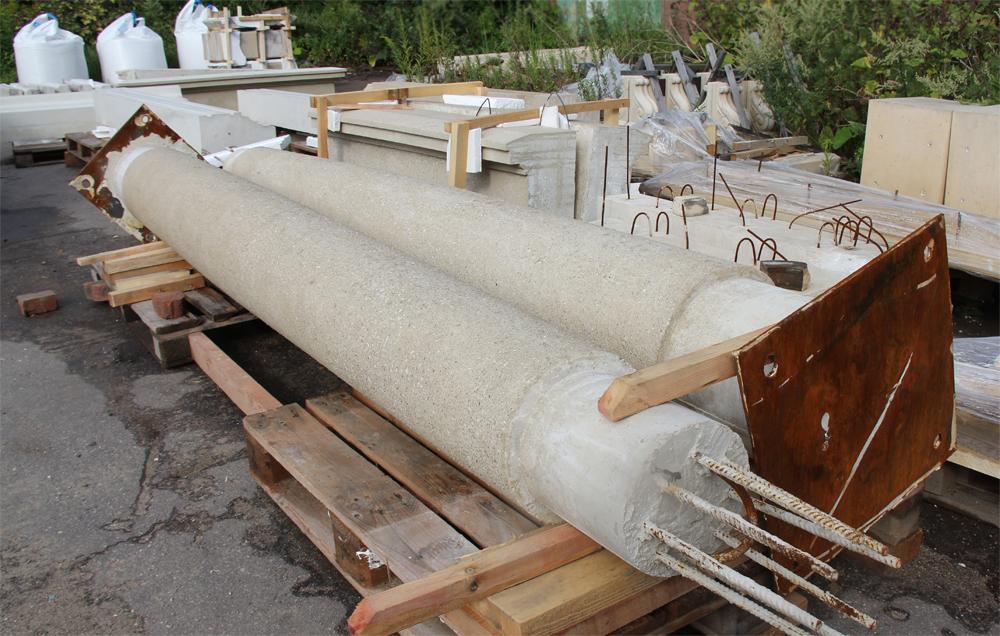 Готовая продукция из бетона