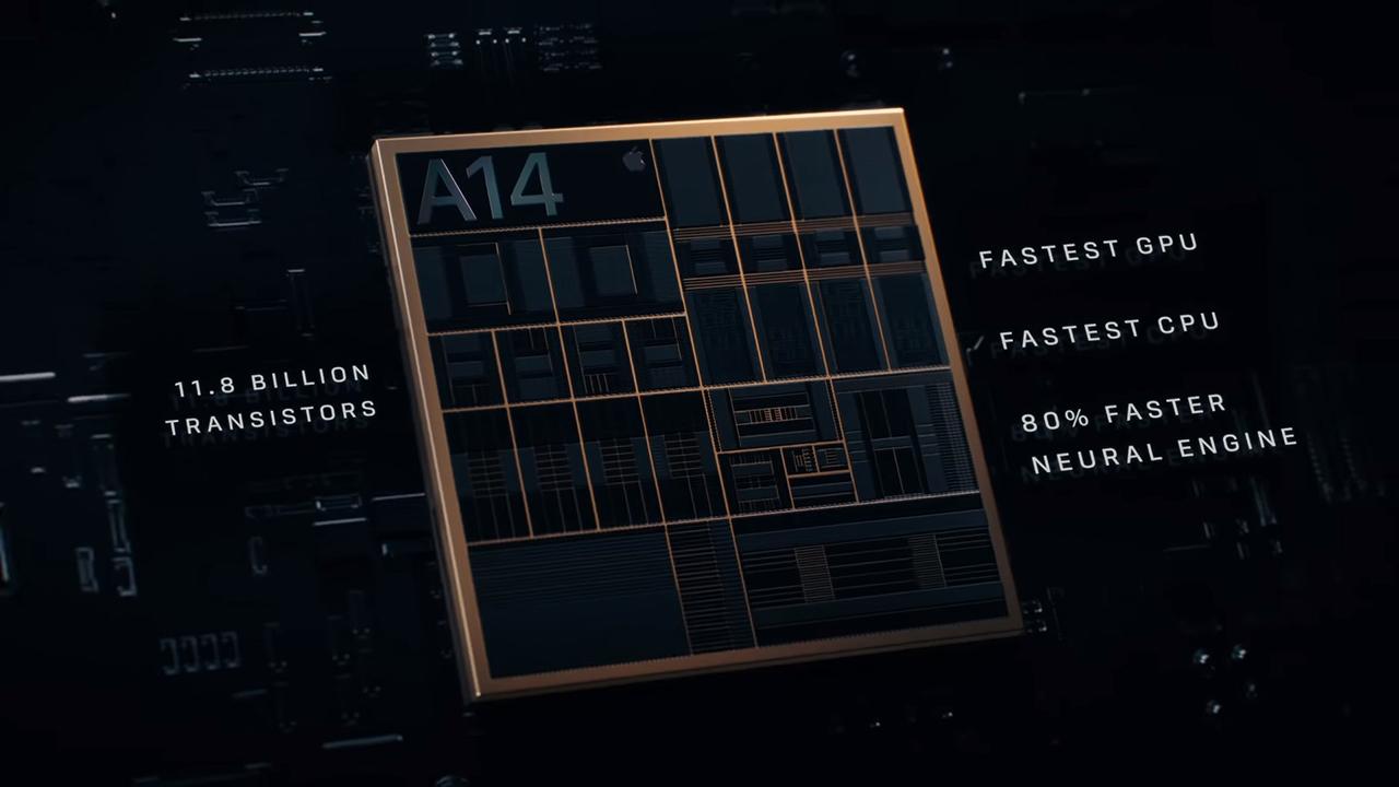 Процессор Apple A14 Bionic с 16-ядерным блоком машинного обучения Neural Engine