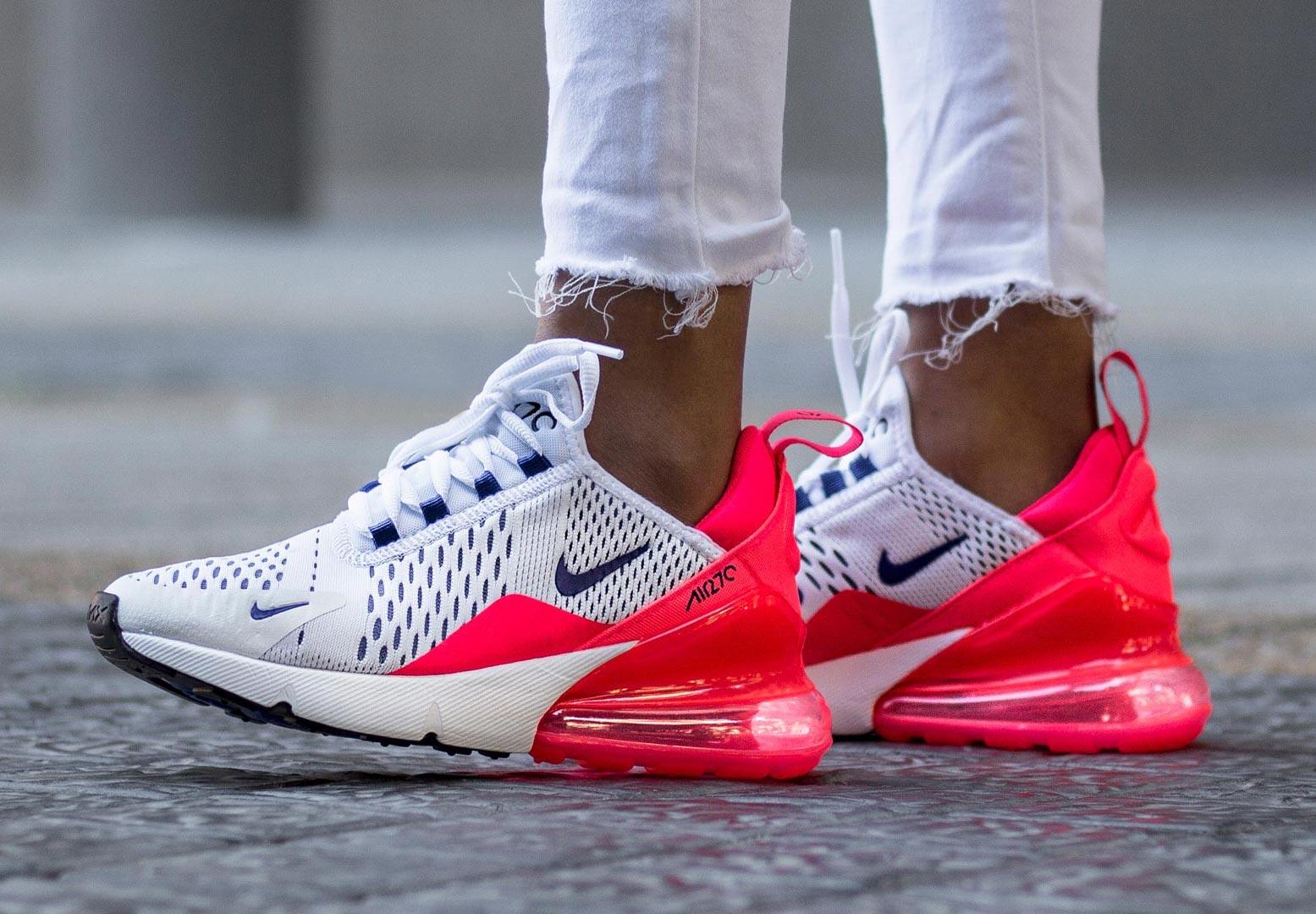 Женские Nike Air Max 270 яркий образ