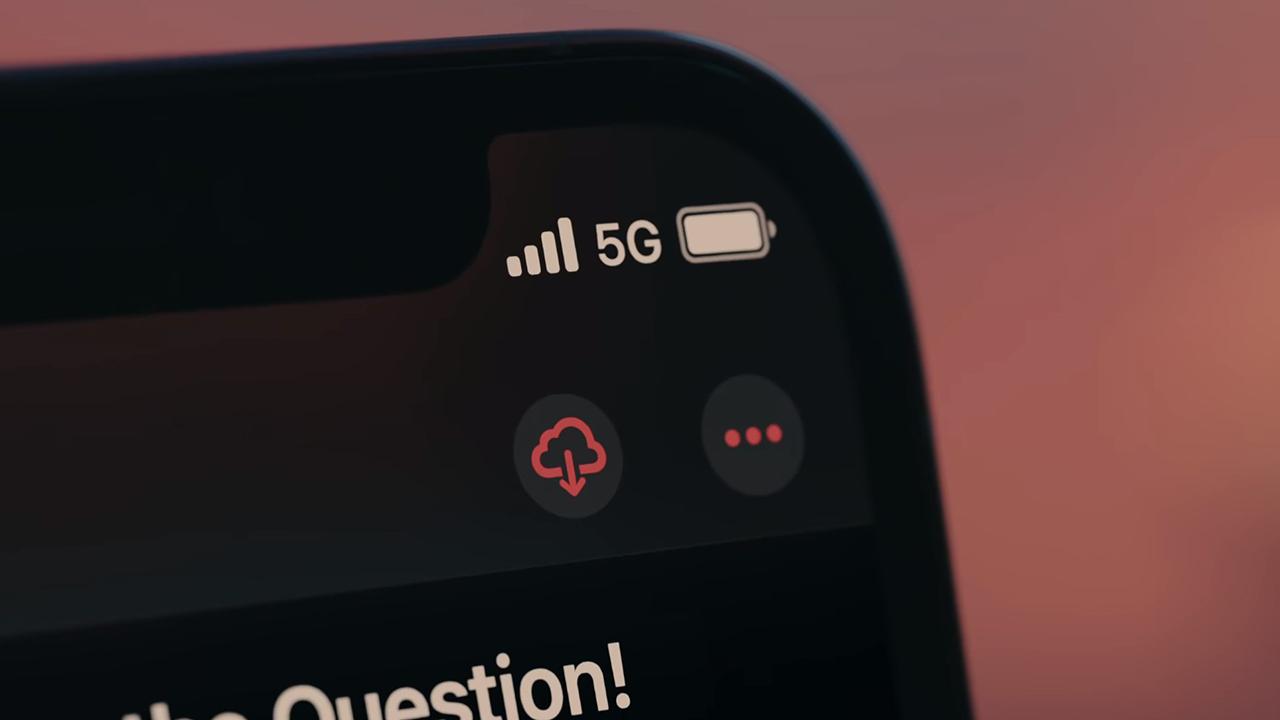 Скорость интернета в iPhone 12 Pro при использовании 5G