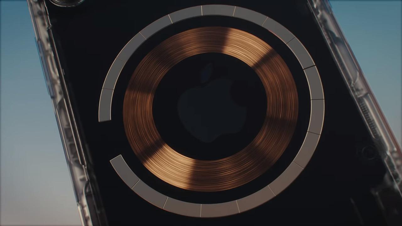 Инженеры Apple внедрили под корпус iPhone магниты MagSafe