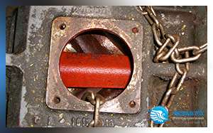 Демонтаж винтового элемента с компрессора