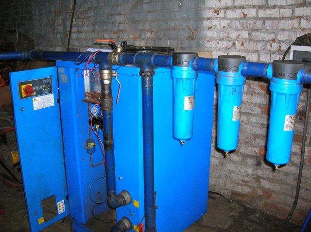 ремонт осушителей сжатого воздуха