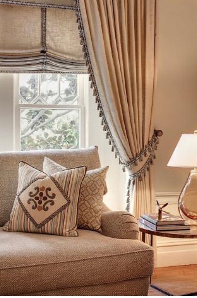 Новинки штор для гостиной