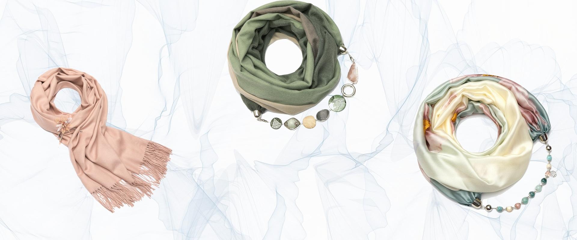 дизайнерские шарфы из Чехии