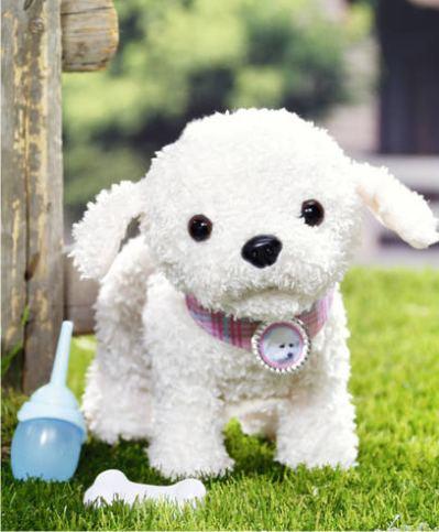 Интерактивный плюшевый щенок Baby Born