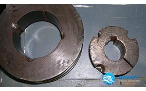 Шкив и втулка винтового блока Termomeccanica SCI8