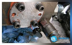 Клапан слива масла на винтовой паре Termomeccanica SCI8