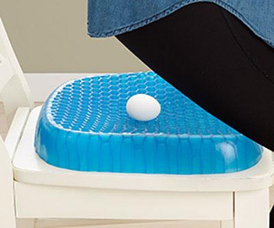 Гелевая подушка Egg Sitter на сидение для снятия напряжения