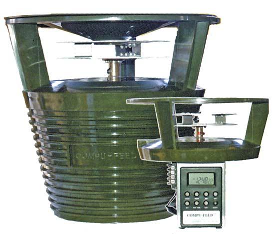 Автоматический расбрасыватель прикорма Compu-Feed, под объем контейнера до 120 литров (США)