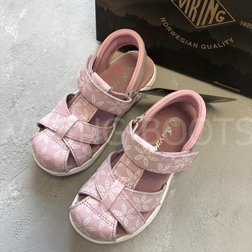 Сандалии Viking Vilde Print Light Pink купить в интернет-магазине Viking-boots