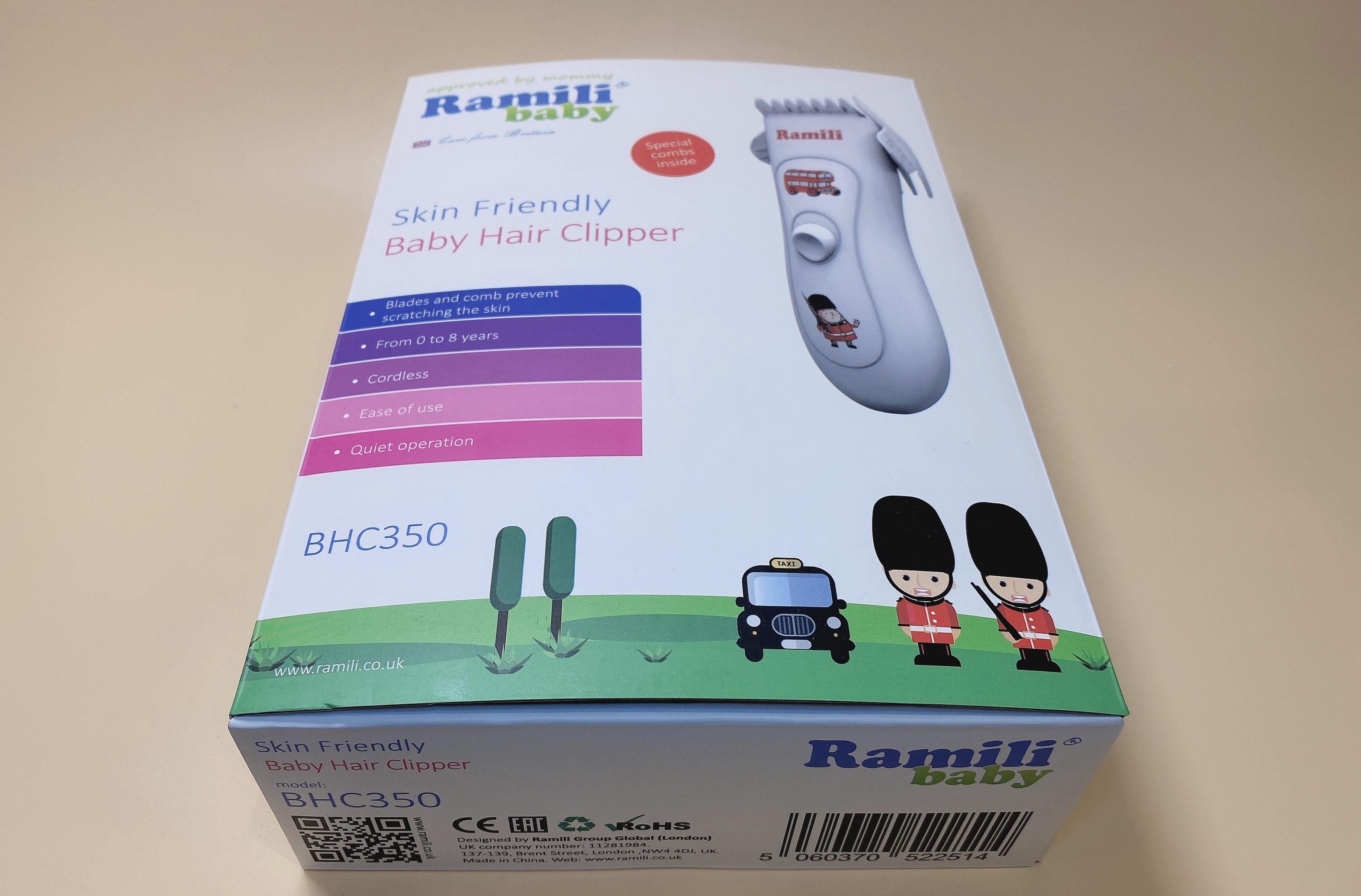 Детская машинка для стрижки Ramili Baby BHC350 (Рамили Беби 350)