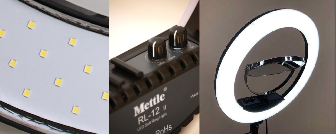 кольцевая светодиодная лампа Меттл Лед 240 (RL-12)