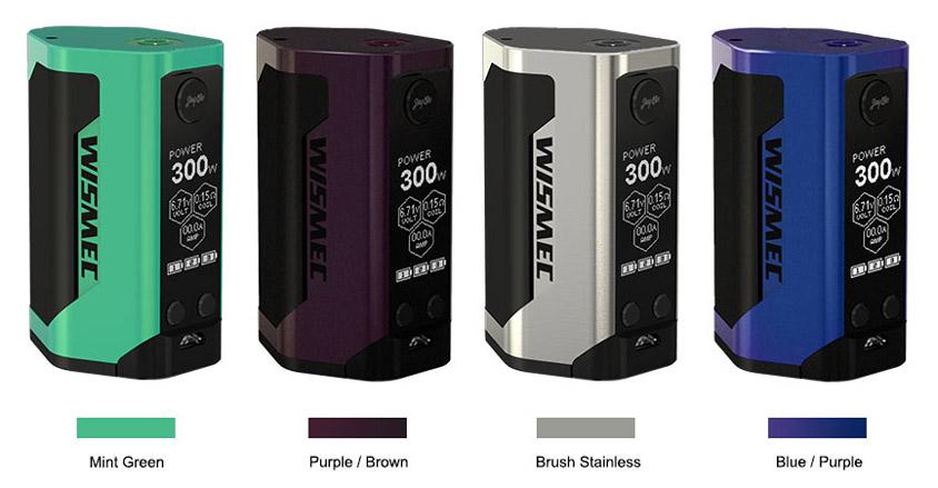 Новые цвета Боксмода WISMEC Reuleaux RX GEN3 300W
