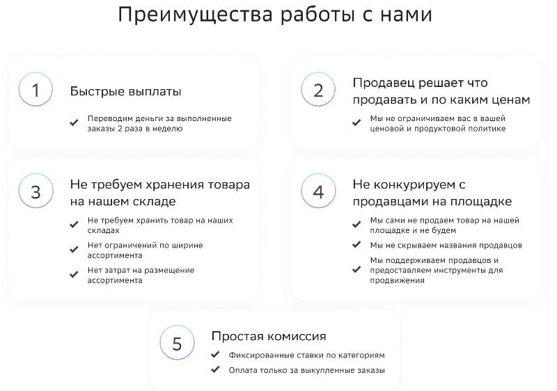 Преимущества работы со СберМегаМаркет