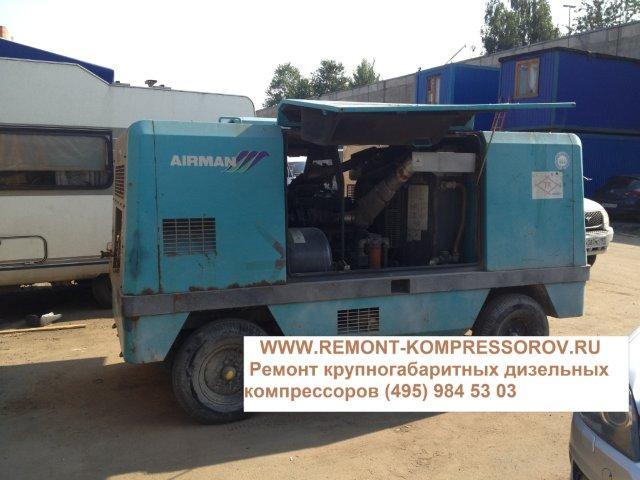 ремонт дизельного компрессора AIRMAN