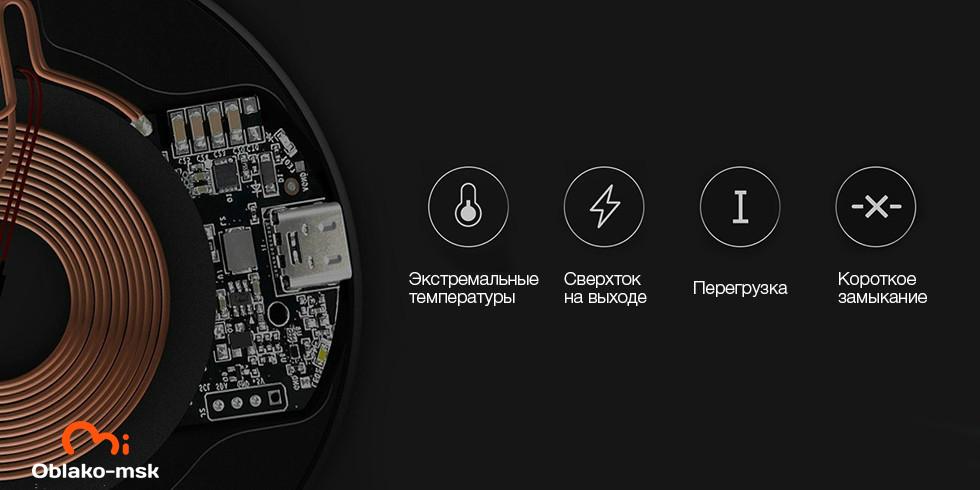 Беспроводное зарядное устройство Xiaomi ZMI Wireless Charger