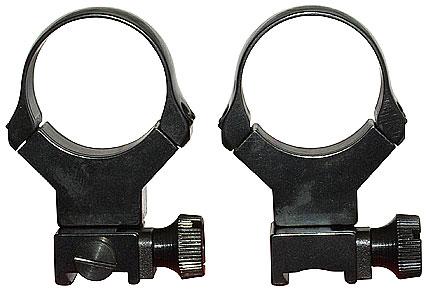 Раздельные стальные быстросъемные кольца EAW на призму 11 мм ( диаметр 30mm/BH=26mm )