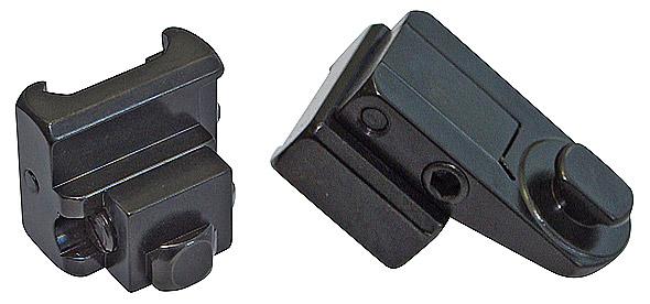 Комплект верхних элементов EAW поворотного кронштейна под Burris Laserscope для его установки на Heym SR21/30