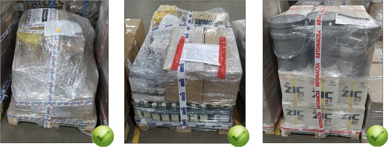 Правильна упаковка товаров при отгрузке