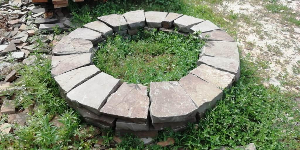 Очаг из Ростовского камня