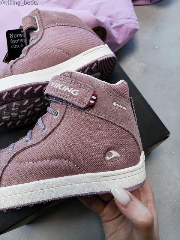 Купить ботинки Viking для девочки можно с доставкой в любой регион РФ.