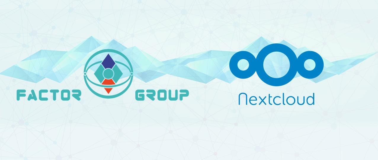Factor group and Nextcloud partnership