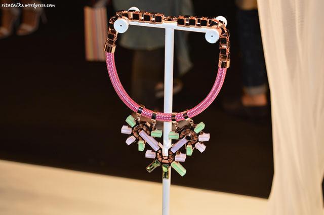 Колье Rose Gold with emerald от Giuliana Mancinelli