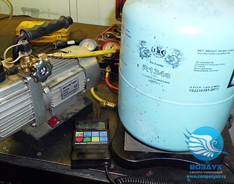 ремонт холодильного осушителя