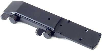 Быстросьемный кронштейн МАК с верхним основанием для установки коллиматорного прицела DOCTERsight на призму 12 мм