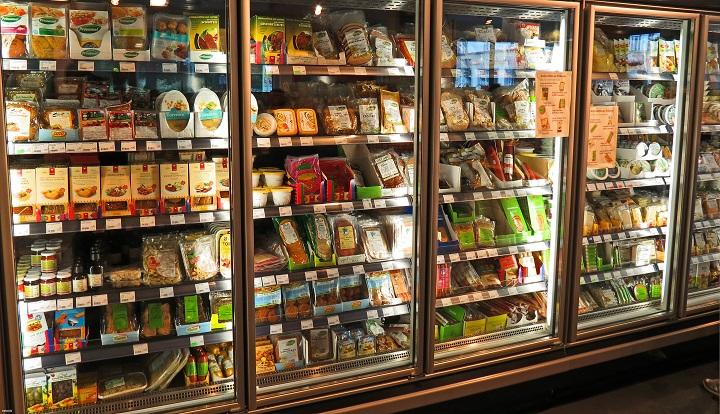 ассортимент продуктов в магазине
