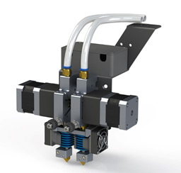 2 экструдера с нагревом до 420 °C CreatBot D600 Pro