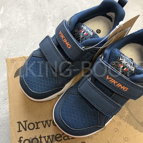 Кроссовки Viking Odda Navy Denim купить в интернет-магазине Viking-boots
