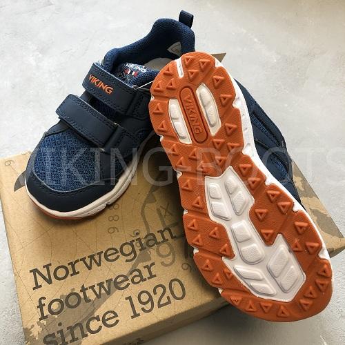 Кроссовки Викинг Одда Navy Denim с доставкой в интернет-магазине Viking-boots