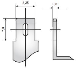 Герметичный свинцово-кислотный аккумулятор Delta HRL – клеммы «Нож F2»