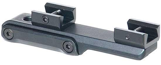 Небыстросъемный кронштейн MAK на едином основании с LM-призмой для установки прицела с шиной 16,5 мм
