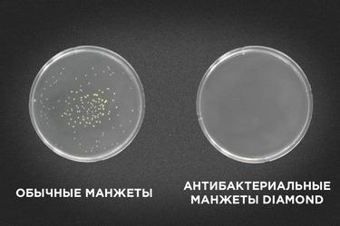 Обычные vs антибактериальные манжеты