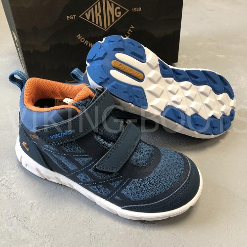 Ботинки Veme Mid GTX Navy Denim купить в интернет-магазине Viking-boots