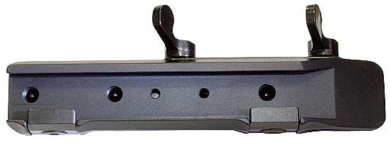 Быстросьемный кронштейн MAK для установки прицелов с шиной LM (16.5 мм) на призму 12 мм