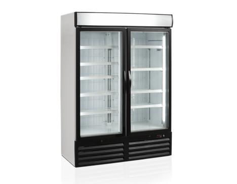 морозильные шкафы со стеклянной дверью