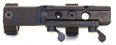Быстросьемный кронштейн MAK на едином основании для установки прицелов с шиной SR-Swarovski на призму 12 мм