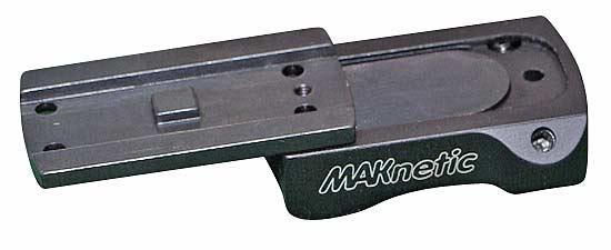 Быстросъемный кронштейн  MAK для установки коллиматорного прицела Aimpoint Micro на карабин Blaser R 93 и другое оружие Blaser с идентичной R93 системой монтажа.