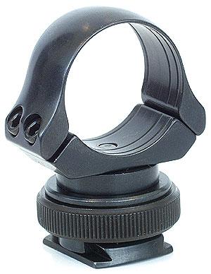 Быстросъемный поворотный кронштейн MAK на Tikka T3 с кольцами диаметром 26 мм