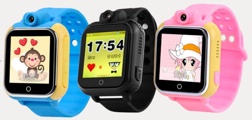 Детские часы с GPS трекером и камерой Smart Baby Watch Q75