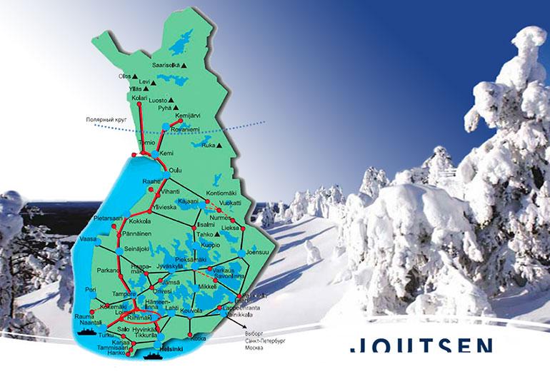 Joutsen - самое северное пуховое производство в мире