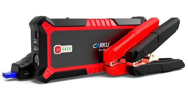 Пусковое устройство Carku Pro-60 с силовыми зажимами