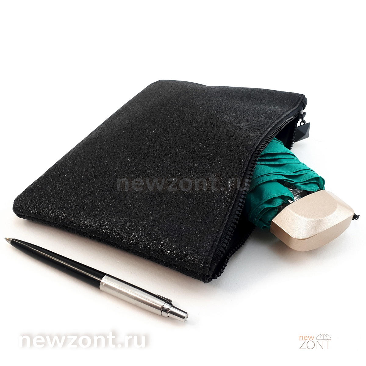 Плоский карманный зонт ArtRain 5311